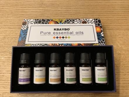 Auswahl von Aroma Ölen